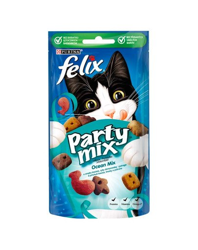 Party Mix ocean Mix,  z łososiem, morskim łososiem i pstrągiem.