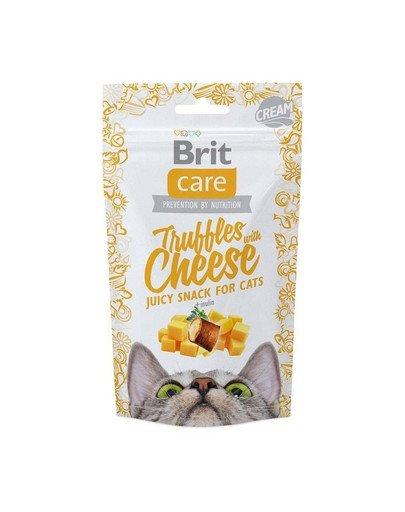 Care Cat Snack Truffles Cheese 50g