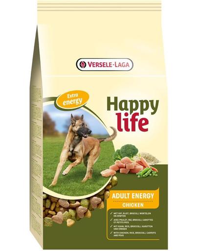 Happy life adult chicken energy 15 kg