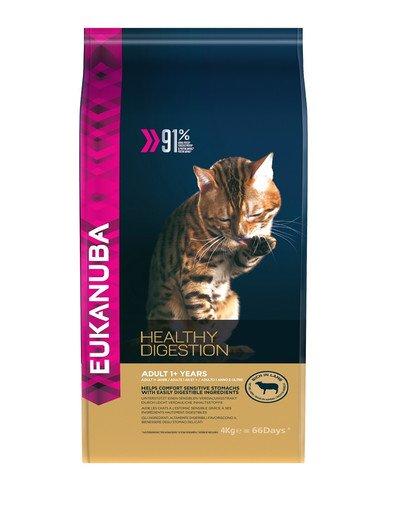 Cat Adult All Breeds Healthy Digestion Lamb & Liver 4 kg