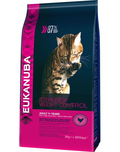 Cat Veterinary Diets dry weight diabetic control adult all breeds 3 kg
