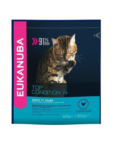 Cat Senior All Breeds Top Condition Chicken & Liver 0.4 kg