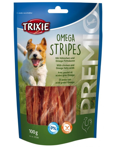 Paski premio omega stripes kurczak 100 g