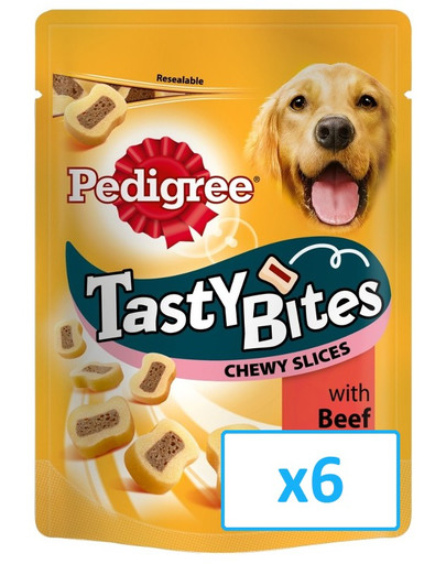 Tasty bites chewy slices 6 x 155 g