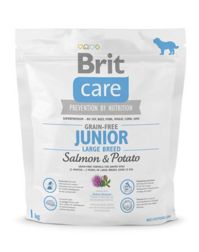 Care Grain-Free Junior Large Breed salmon & potato 1 kg
