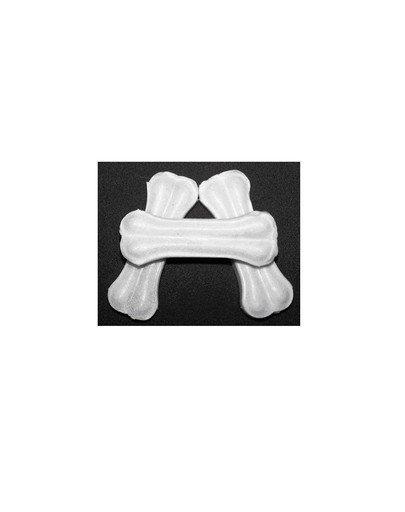 Kość prasowana biała 8 cm 3 / 20 g (50 szt.)