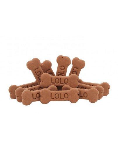 Ciastka dla psa kości L czekoladowe 3 kg