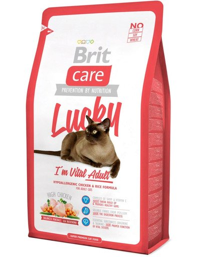 Care Cat Lucky I'm Vital Adult 2 kg