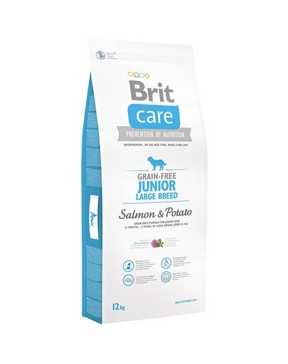 Care Grain-Free Junior Large Breed salmon & potato 12 kg