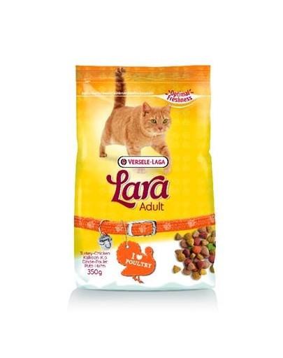 Lara adult turkey & chicken karma dla kotów z indykiem i kurczakiem 350 g