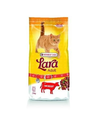 Lara adult beef - z wołowiną karma dla kotów 2 kg