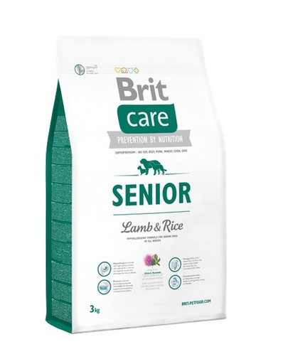 Care Senior lamb & rice 3 kg