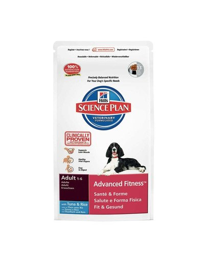 Science Plan Canine Adult Advanced Fitness Tuna & Rice 12 kg