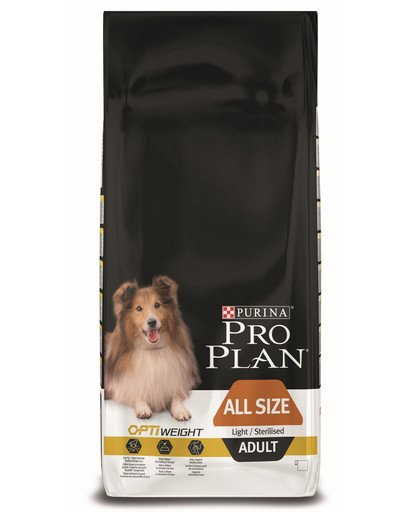 PRO PLAN All size adult light/sterilised 14 kg
