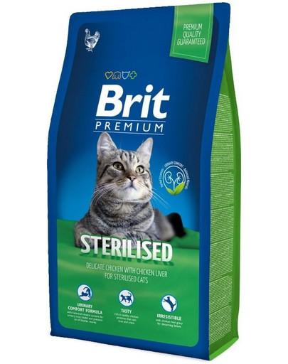 Brit cat sterilised 8 kg