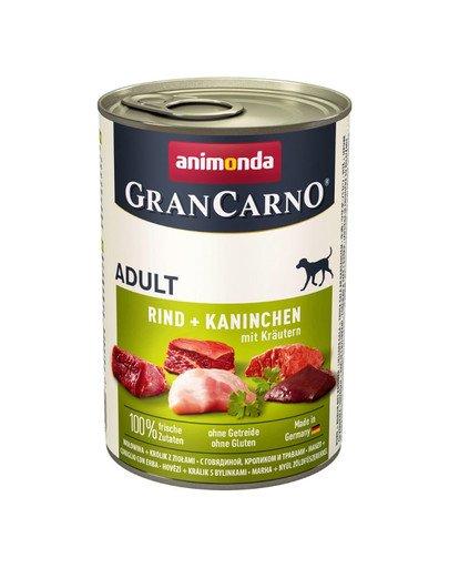 Grancarno królik i zioła 400 g