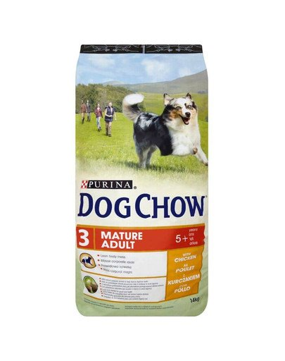 Dog Chow Mature adult 5+ kurczak 14 kg