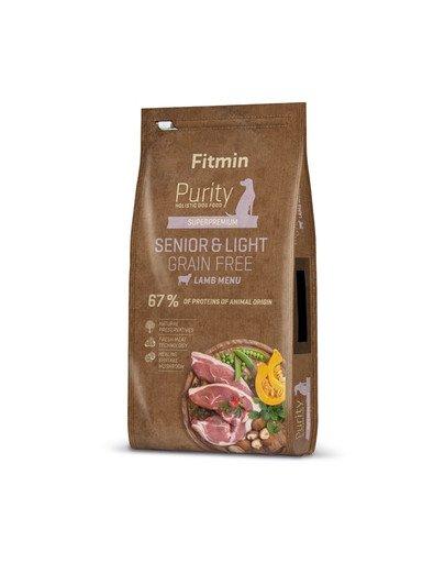 Dog Purity Grain free senior & light lamb 12 kg
