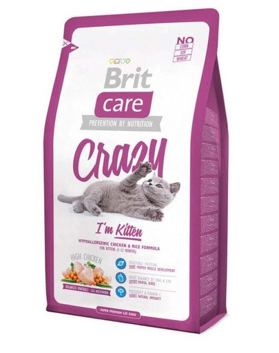 Care Cat Crazy I'm Kitten 7 kg