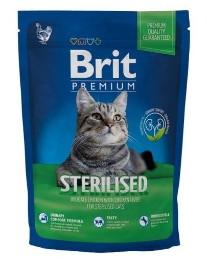 Brit cat sterilised 1,5 kg