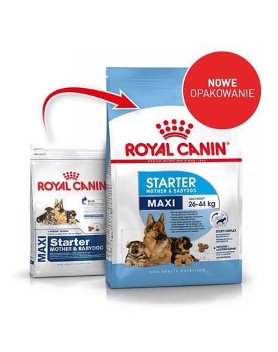 Maxi Starter Mother&Babydog 15 kg karma sucha dla suk w ciąży i okresie laktacji oraz szczeniąt, od 4 do 8 tygodnia życia, ras dużych