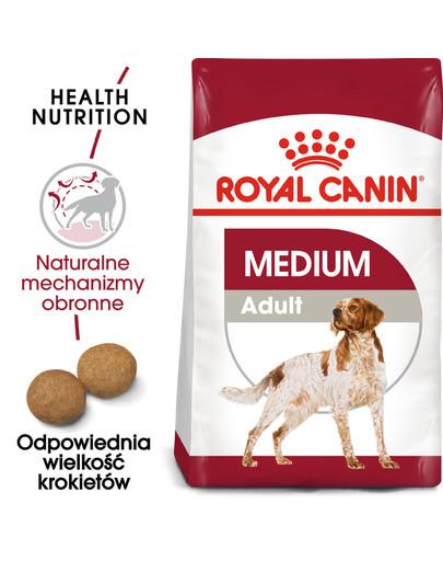 Medium Adult 4 kg karma sucha dla psów dorosłych, ras średnich