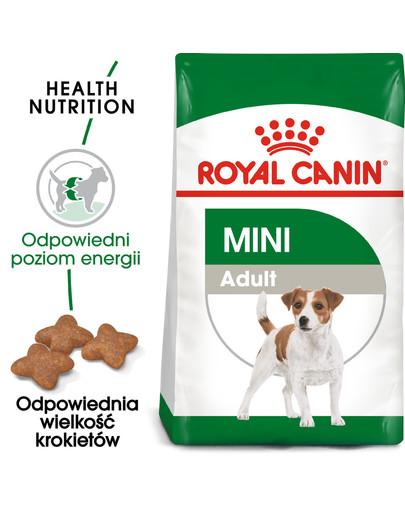Mini Adult 800 g karma sucha dla psów dorosłych, ras małych