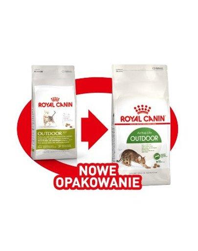 Outdoor 400 g karma sucha dla kotów dorosłych, wychodzących na zewnątrz