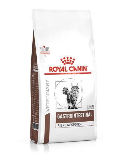 Cat fibre response 0.4 kg