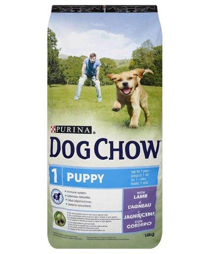 Dog Chow Puppy jagnięcina 14 kg