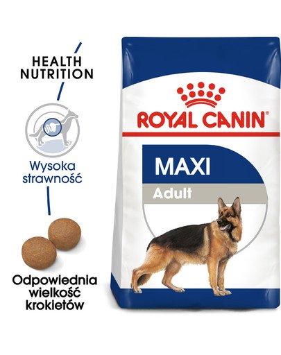 Maxi Adult 4 kg karma sucha dla psów dorosłych, do 5 roku życia, ras dużych