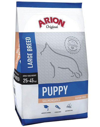 Original Puppy Large Salmon & Rice 12 kg