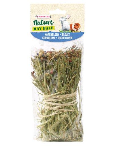 Snack Hay Bale Cornflower - wiązka sianka z bławatkiem 70 g