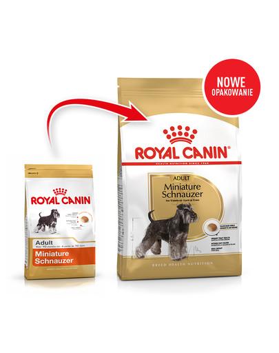 Miniature Schnauzer Adult 7.5 kg karma sucha dla psów dorosłych rasy schnauzer miniaturowy