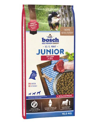 Junior jagnięcina z ryżem 15 kg