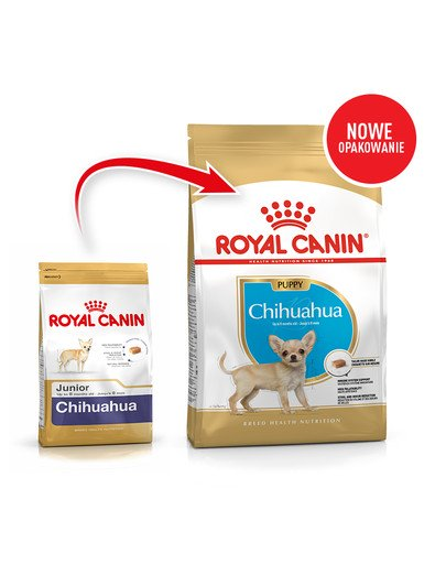 Chihuahua junior 1.5 kg karma sucha dla szczeniąt do 10 miesiąca rasy Chihuahua
