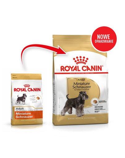Miniature Schnauzer Adult 3 kg karma sucha dla psów dorosłych rasy schnauzer miniaturowy