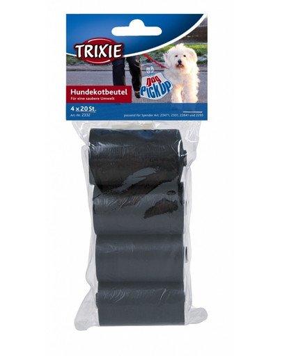 Woreczki na psie nieczystości 4 x 20 szt.