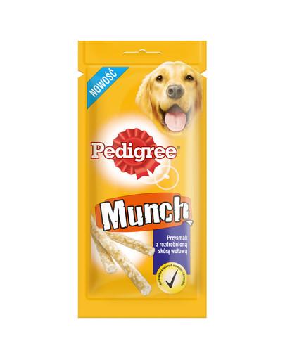 Munch Przysmak z rozdrobnioną skórą wołową 12*48 g
