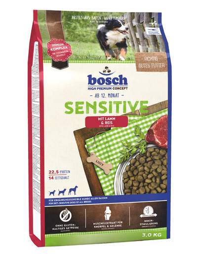 Sensitive jagnięcina i ryż 3 kg