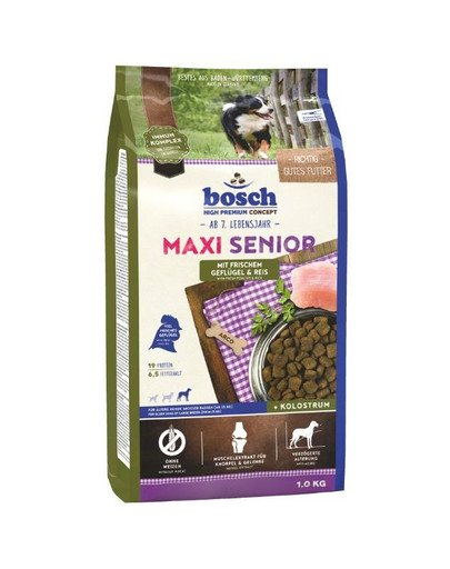 Maxi Senior drób i ryż 1 kg