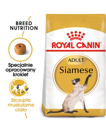 Siamese adult 0.4 kg karma sucha dla kotów dorosłych rasy syjamskiej
