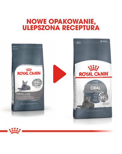 Oral Care 8 kg karma sucha dla kotów dorosłych, redukująca odkładanie kamienia nazębnego