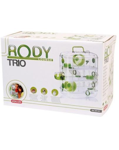 Klatka trio rodylounge zielona