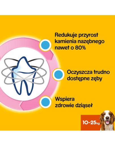 DentaStix (średnie rasy) przysmak dentystyczny dla psów 7szt. - 180g