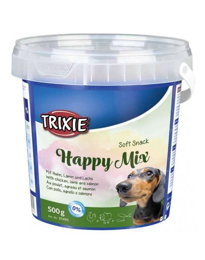 Miękkie przekąski dla psa mix 500 g