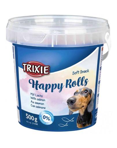 Miękkie przekaski dla psa happy rolls 500 g