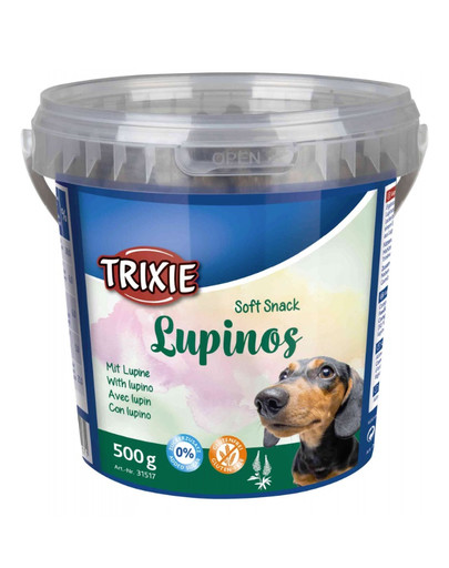 Lupinos kosteczki drobiowo-warzywne 500 g