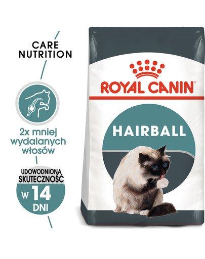 Hairball Care 4 kg karma sucha dla kotów dorosłych, eliminacja kul włosowych