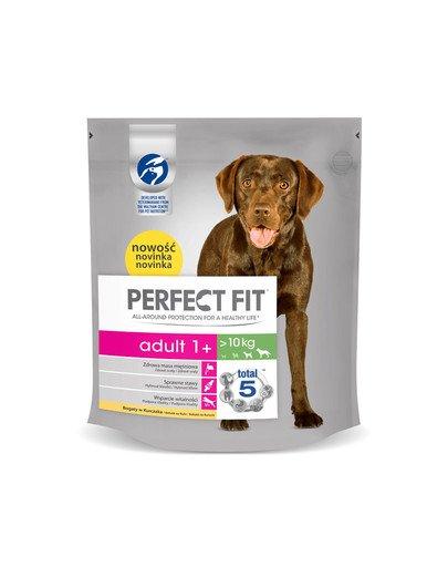 (Adult 1+) 5x825g Bogaty w kurczaka - sucha karma dla psów średnich i dużych ras